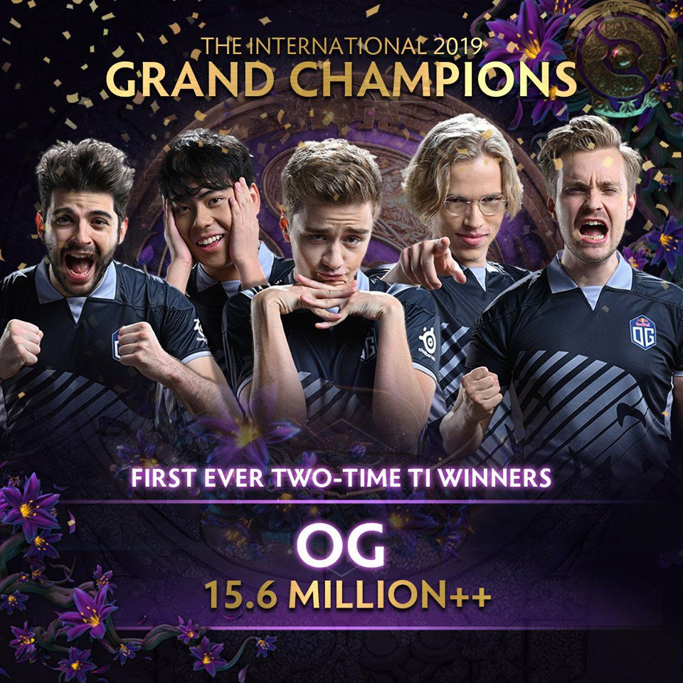 eGG | OG does it again, becoming your Dota 2 TI9 champion!