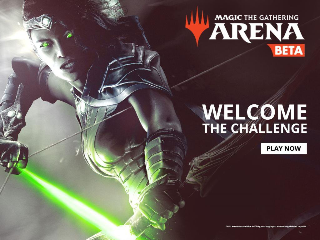 eGG   Magic the Gathering Arena: Open Beta is Here!