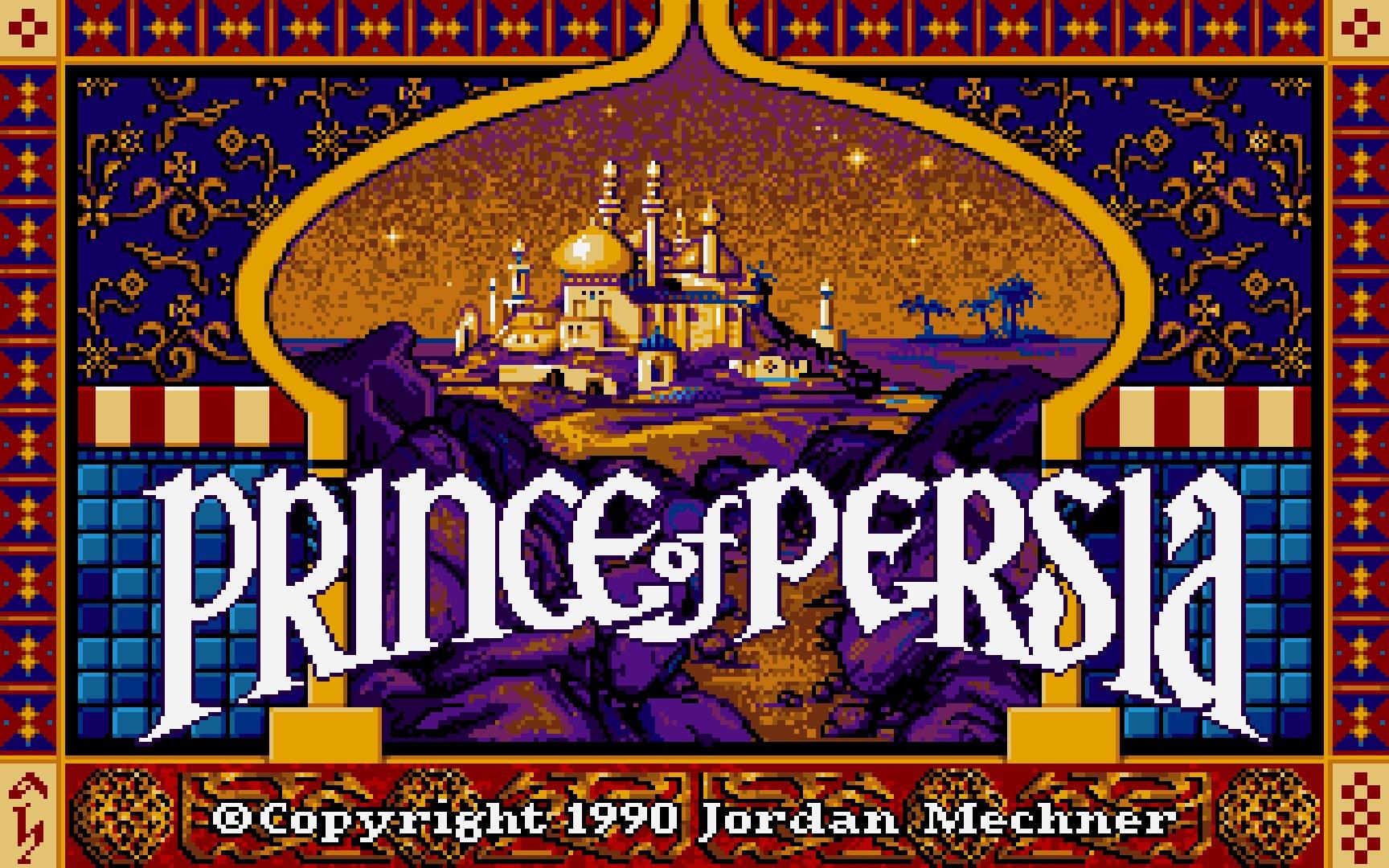 Prince of Persia DOS 1