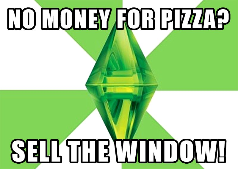 The Sims Meme Window