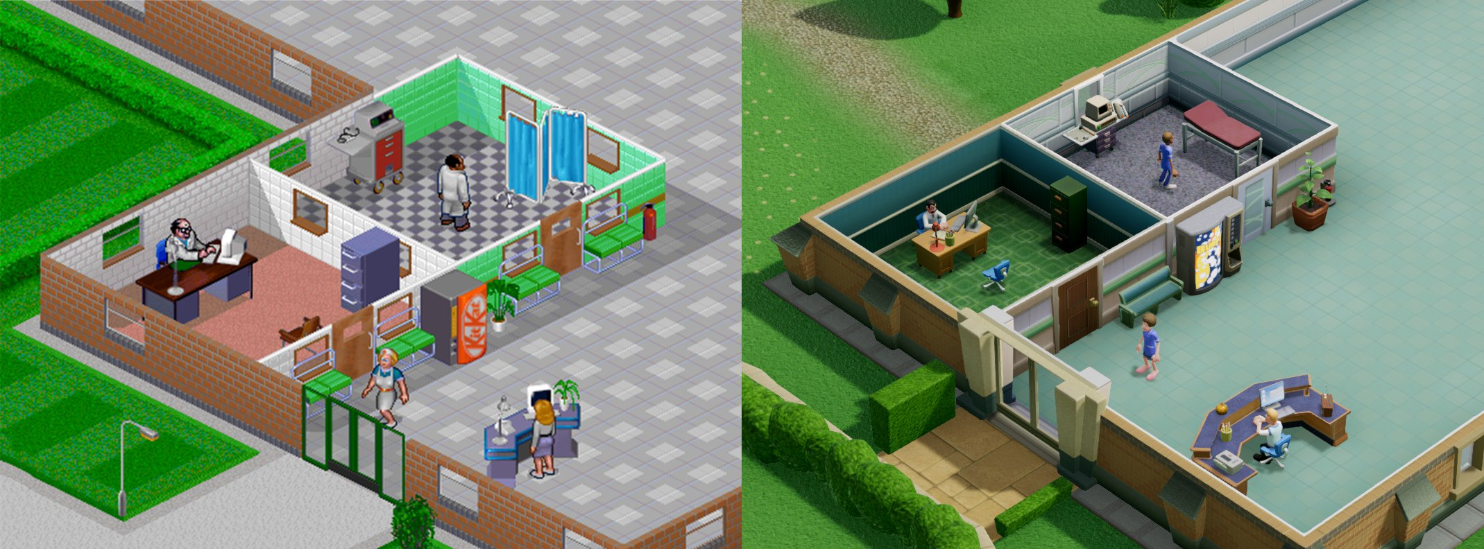 Theme Hospital to Two Point Hospital
