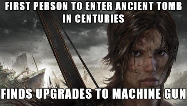 Tomb Raider Meme
