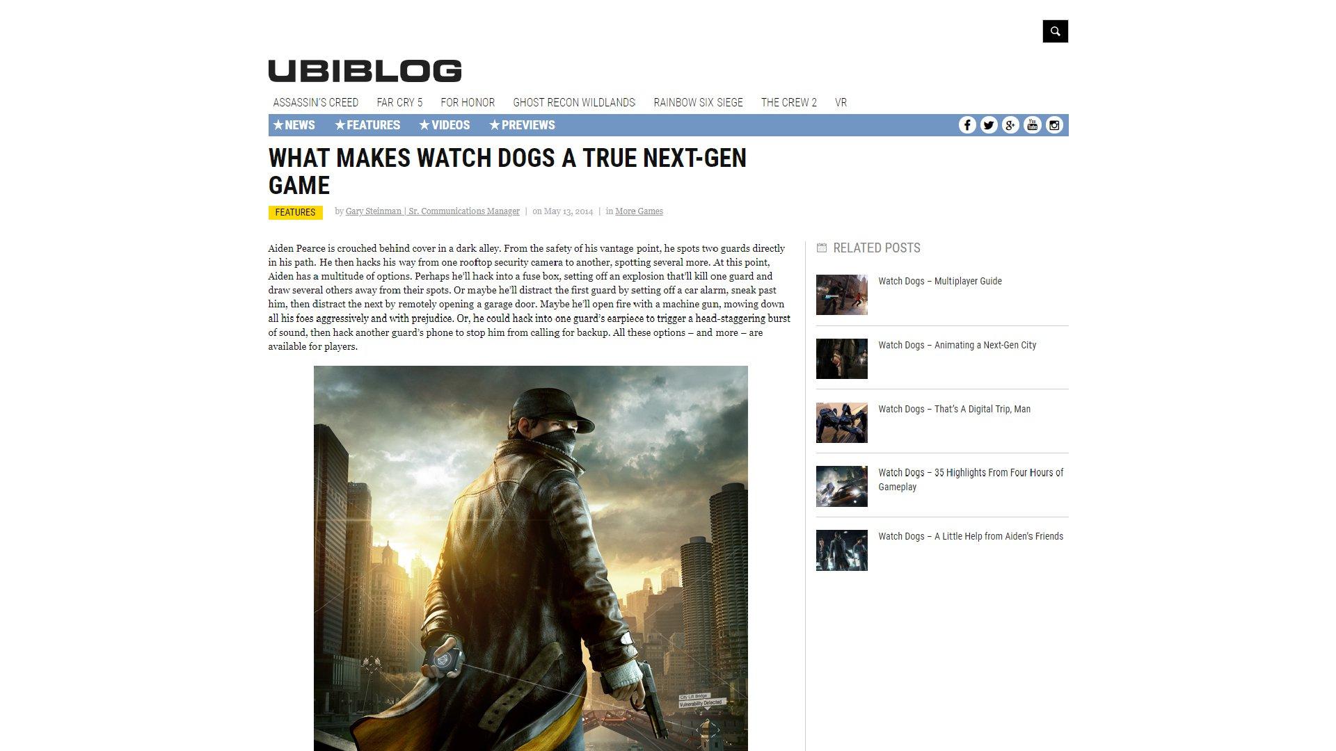 Ubisoft Next Gen