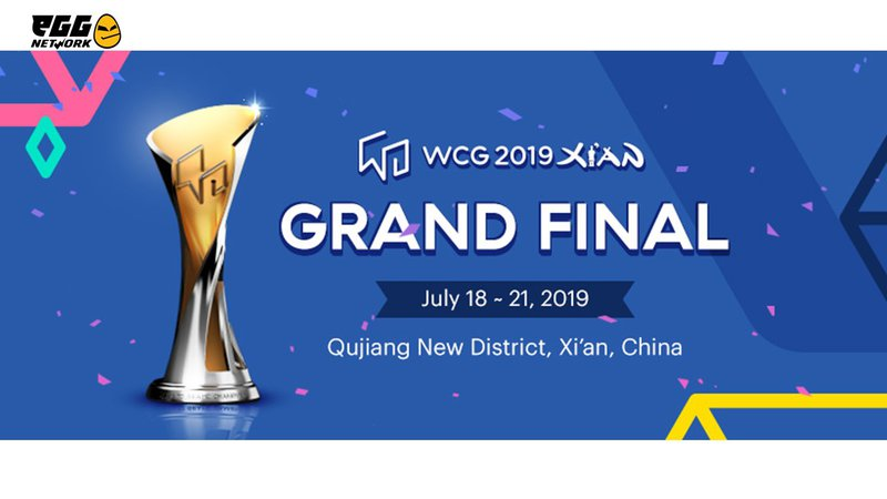 eGG   The World Cyber Games (WCG) 2019 Xi'an Grand Final starts this