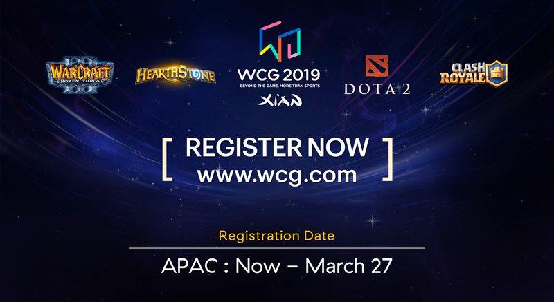 eGG   Register for the World Cyber Games Now!