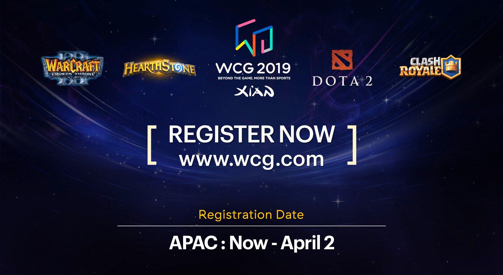 eGG | World Cyber Games Extends Registration Period