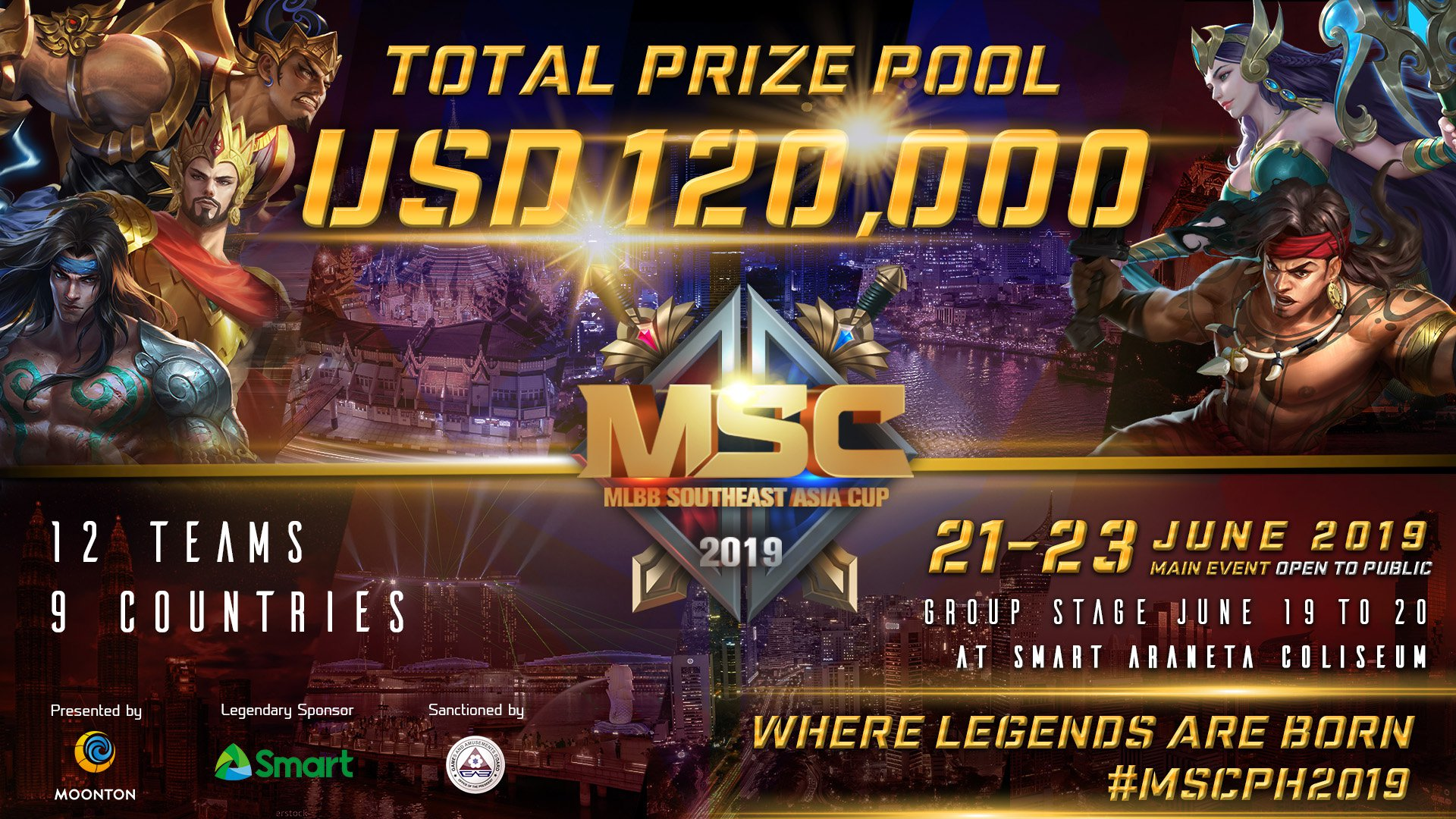 eGG | MSC 2019 Will Take Place in the Philippines!